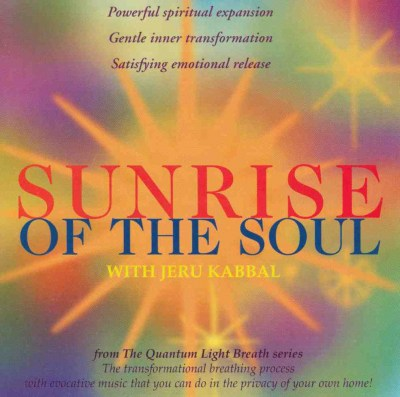 CD The Sunrise of the Soul by Jeru Kabbal